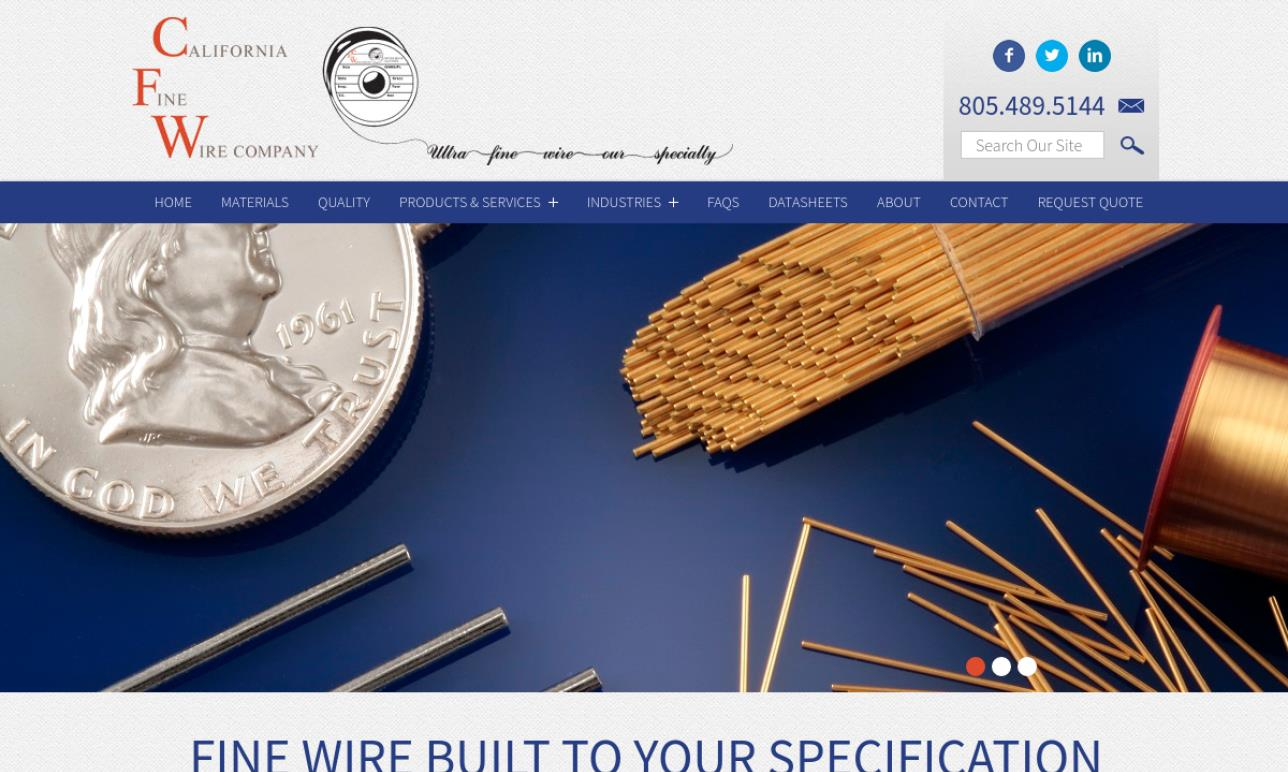 California Fine Wire Company