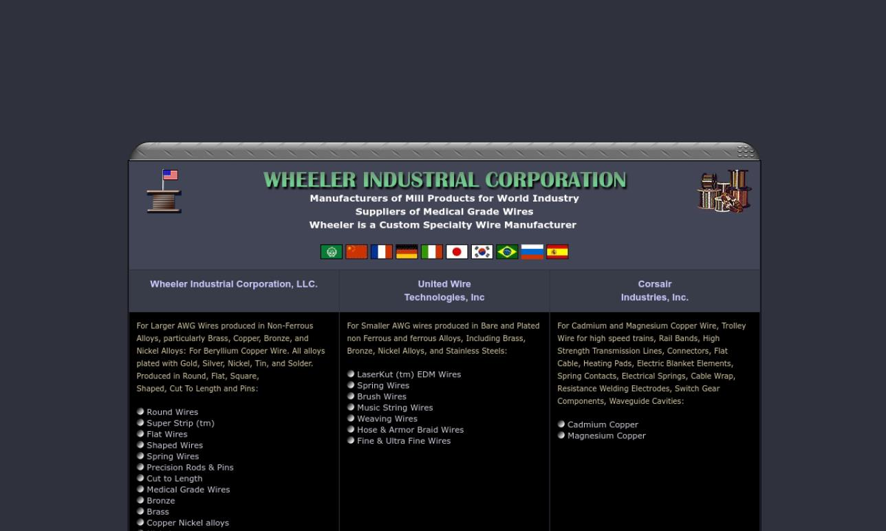 Wheeler Industrial Corporation